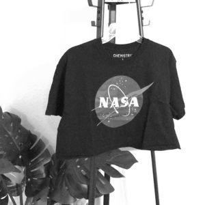 NASA Chemistry Crop Top